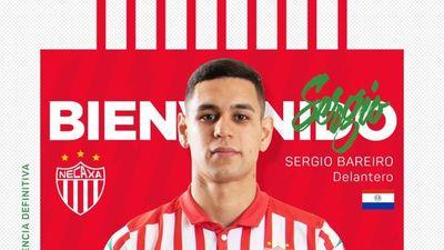 Sergio Bareiro es anunciado en su nuevo club