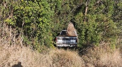 Recuperan camioneta denunciada como robada