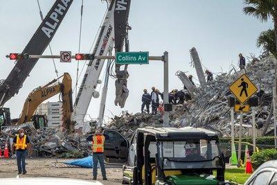 Familias de víctimas del derrumbe en Miami recibirán al menos USD 150 millones