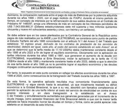 Operativa aplicada en Itaipú resultaba muy conveniente financieramente para Eletrobras