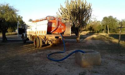SEN coordina provisión de agua para comunidades del Chaco ante periodo de sequía