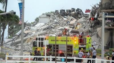 Derrumbe en Miami: USD 150 millones recibirán familias de víctimas