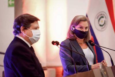 Estados Unidos da seguimiento a temas abordados en Paraguay por su subsecretaria de Estado