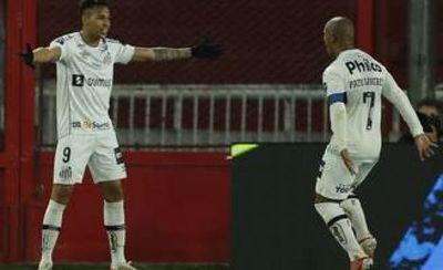 Santos elimina a Independiente y será rival de Libertad en cuartos