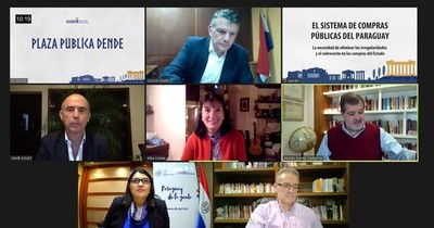 La Nación / Reiteran la necesidad e importancia de mejorar el sistema de compras públicas