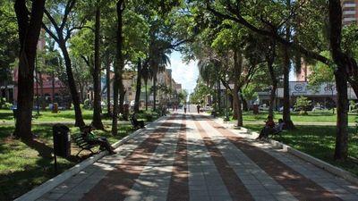 Nieve colorada del Paraguay