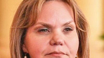 Lilian mostró disconformidad con el sistema electoral actual