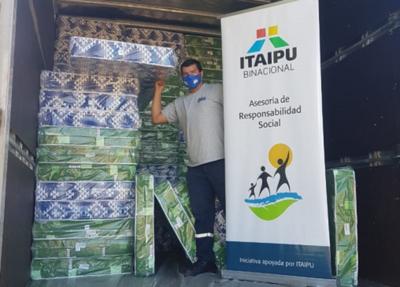 Itaipu apoya al INDI en asistencia a comunidades para enfrentar las bajas temperaturas