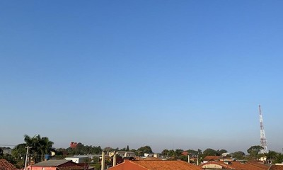 Viernes fresco a caluroso con máxima de 31°C en Coronel Oviedo