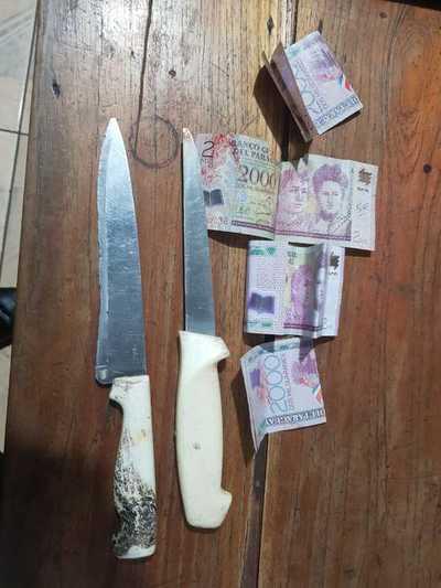 Atrapan a asaltante que a punta de cuchillo despojó de dinero a un conductor de Uber