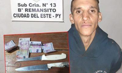 Delincuente cae detenido tras refugiarse en Inquilinato tras asaltar a conductor de Uber – Diario TNPRESS
