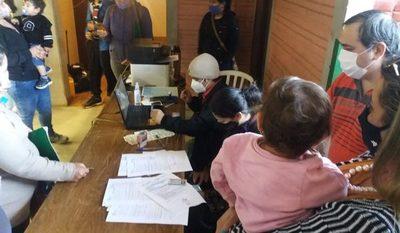 Registro Civil se instala en polideportivo de CDE