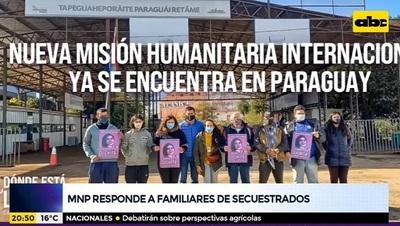 Organismo de DD.HH. responde a críticas de familiares de secuestrados