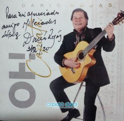 Tristeza en Capiatá: Se nos fue Dario Rojas, se apaga la voz del amigo y artista que canta con alma y corazón a su pueblo