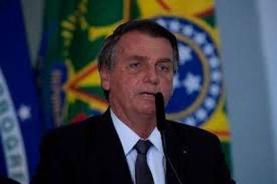 """""""Le hacemos fuerza a Argentina para enderezarse, pero no es fácil"""", dijo Bolsonaro"""