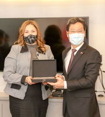 INDERT reconoció a Taiwán por la cooperación técnica a favor de las familias campesinas