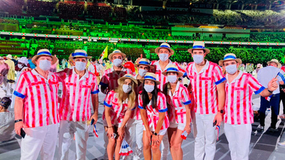 Con ocho atletas de Paraguay, arranca oficialmente Tokio 2020