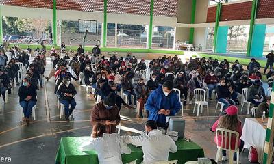 Más de 12 mil personas fueron inmunizados en dos días en el Departamento de Caaguazú