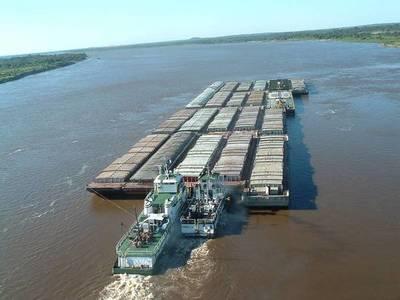 Se dificulta navegabilidad de ríos, suben los fletes para carne y soja, y buscan alternativas por Brasil