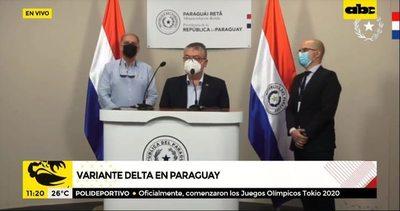 """Paraguay detecta """"posible"""" caso de la variante delta"""