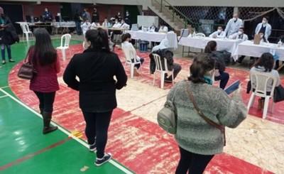 Alto Paraná cierra la semana con 40 mil vacunados y con emotivo Día A