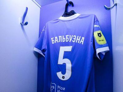 Fabián Balbuena, titular en el debut del Dinamo en Rusia