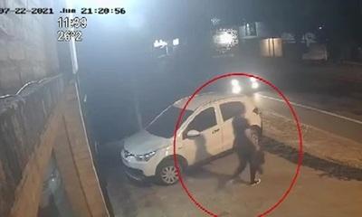 Luque: Conductor chocó a una mujer y huyó