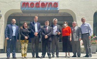 2.000.000 de Moderna: Paraguay firma contrato