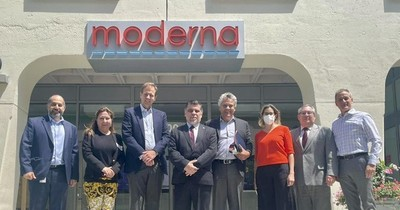 La Nación / Paraguay firmó contrato con Moderna por 2.000.000 de dosis