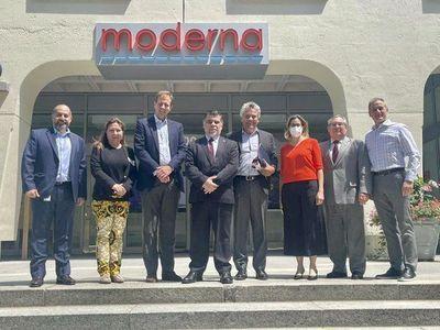 Paraguay firmó contrato para comprar 2 millones de vacunas Moderna