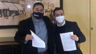 Nakayama y García elegirán candidato único y tratarán de frenar al coloradismo en Asunción