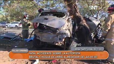 Hijo de Chiqui Arce fallece en accidente automovilístico (video)