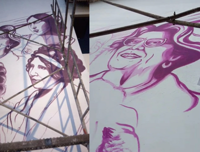 Inaugurarán el mural Kuñanguéra Ojepytasova Hetâre