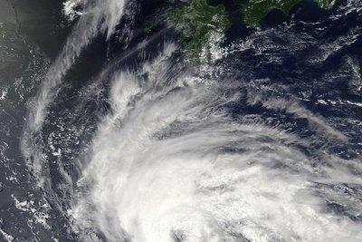 Tras las históricas inundaciones, un tifón se cierne sobre el sureste de China
