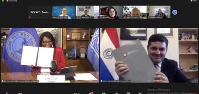 ¡Buenas nuevas! OPS y Paraguay crearán crear banco regional de antígenos de fiebre aftosa