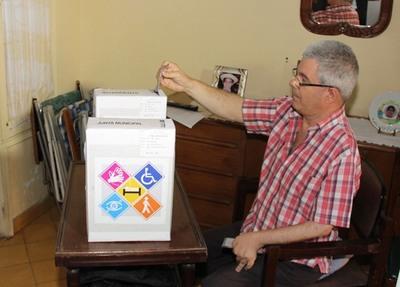Aprobado el listado de beneficiarios con el Voto en Casa y Voto en Mesa Accesible