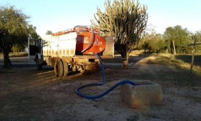 SEN coordina provisión de agua para comunidades del Chaco afectadas por la sequía