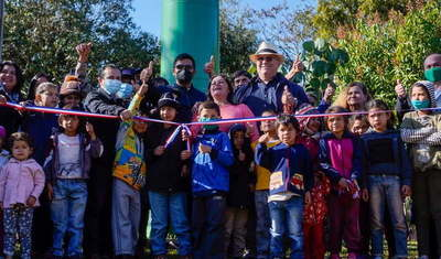 Gobernador habilita sistema de agua potable en Caaguazú
