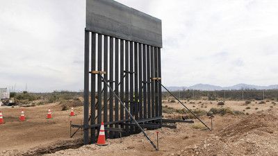 Biden cancela contratos para construcción del muro fronterizo