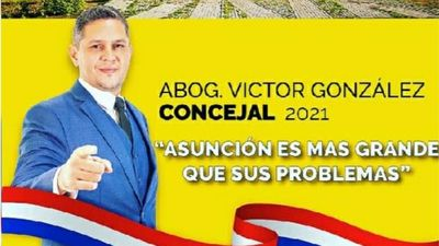 Conocé a tu candidato: Víctor González (Candidato a Concejal de Asunción por Unámonos)