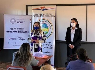 Ministerio de la Mujer desarrolló jornada de sensibilización sobre violencia en Amambay