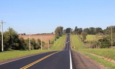 Rehabilitación de la ruta PY01 avanza con el proyecto Malla Sur