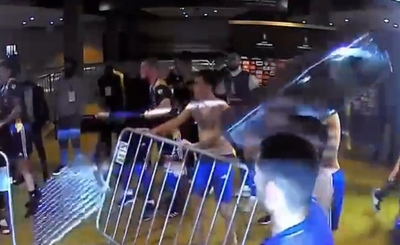 Plantel de Boca sigue preso por incidentes tras la eliminación