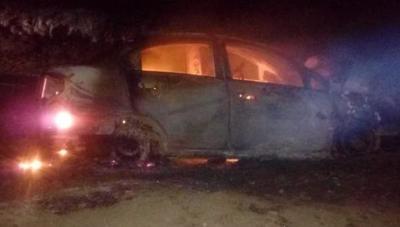 PJC: Candidato a concejal denuncia que desconocidos quemaron su vehículo