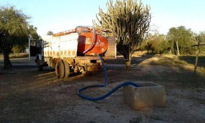 Coordinan provisión de agua para comunidades del Chaco ante periodo de sequía