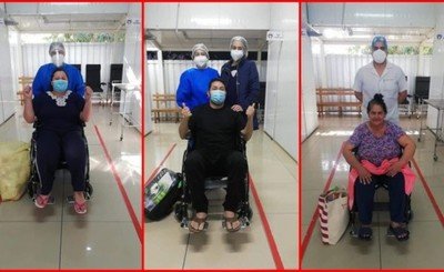 Pabellón de Contingencia amaneció con solo 7 pacientes internados