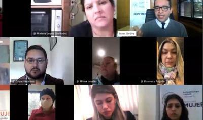 Se desarrollo seminario virtual sobre mujer emprendedora y tecnología