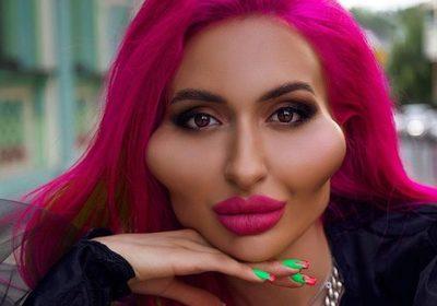 Conoce a Anastasia Pokreshchuk, la modelo que quiere tener las mejillas más grandes del mundo