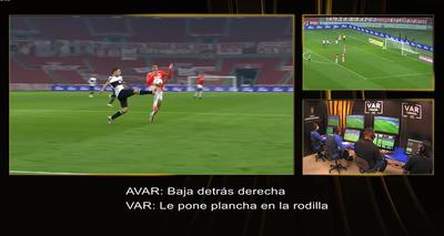 La apreciación del VAR en el penal a favor de Inter