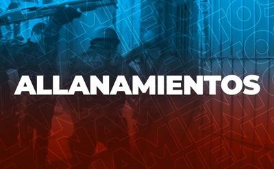 Asunción: Allanan ONG vinculada a Gobernación de Central